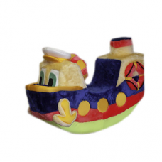 Утенок - пароход мягкое кресло качалка