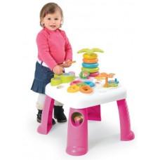 Развивающий стол SMOBY розовый