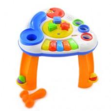 Развивающий  столик WinFun Музыкальный с шариками и фигурками - сортер