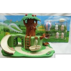Сказочный лес - набор (дерево дом)